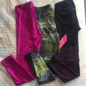 Pink American apparel leggings